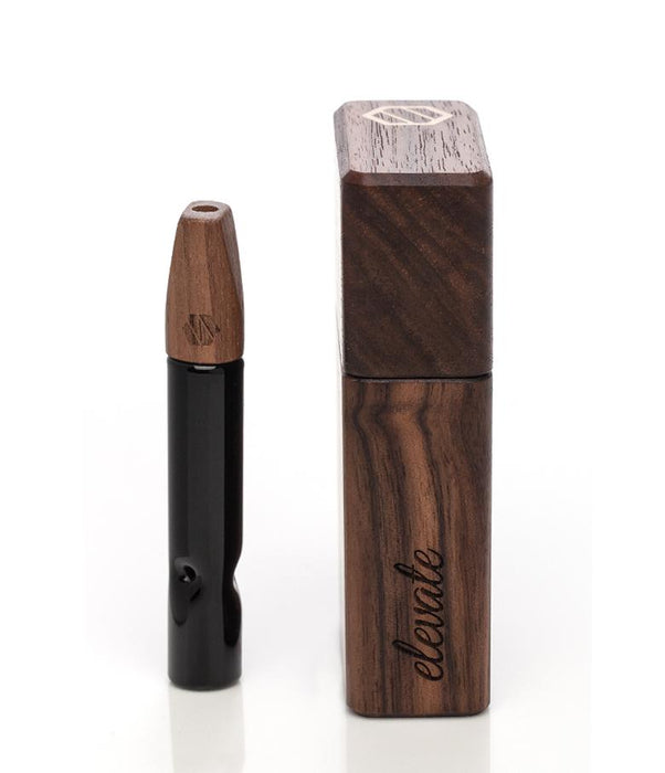 Luxury Wood Dugout Kit with Glass One-Hitter by Elevate Accessories