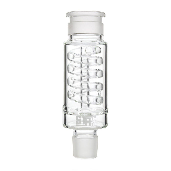 Stax Coil Perc Filter by Grav Labs - Clear - 7 Inches