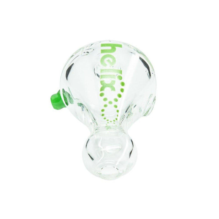 Helix Chillum Taster Pipe with Carb and Roll Stop - 3 Inches