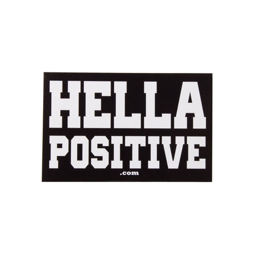 Hella Positive Sticker by Master Bong