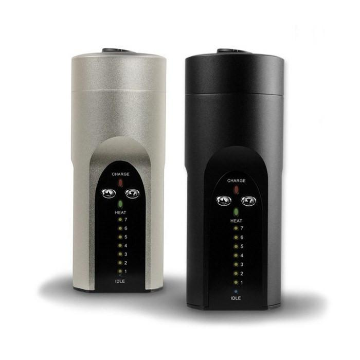 Solo Desktop Vaporizer by Arizer - Dry Herb - Black & Silver