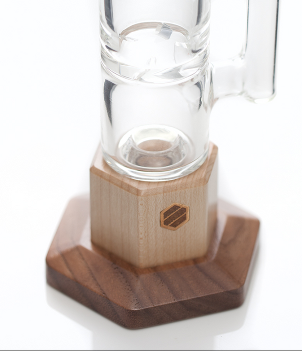 Deluxe Bubbler Bong w/ Dry Herb and Wax Attachments by Elevate Accessories