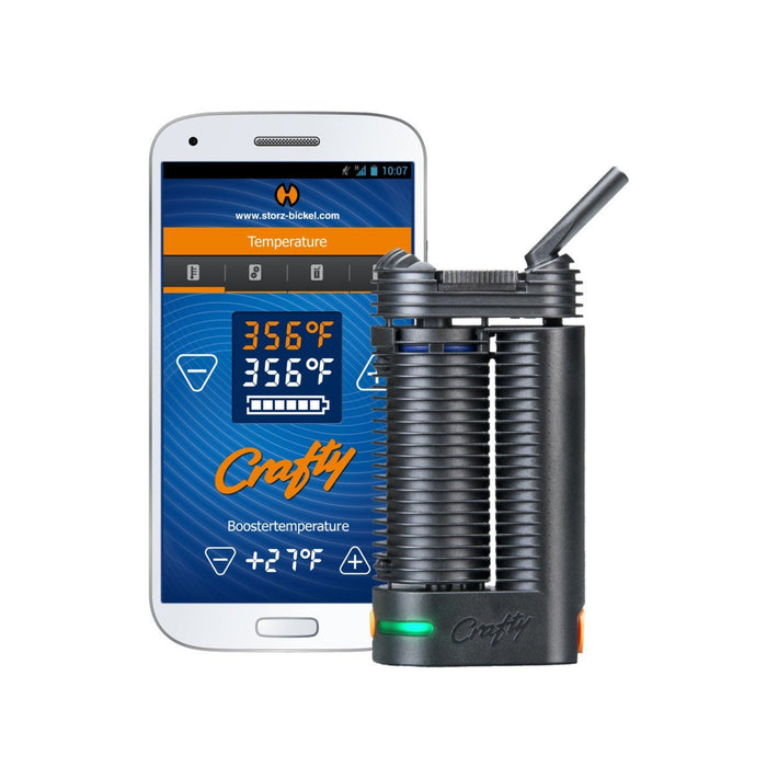 Crafty Vaporizer by Storz & Bickel - Dry Herbs and Wax