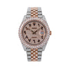 Rolex Datejust II 126331 41MM Champagne Diamond Dial With 17.75 CT Diamonds