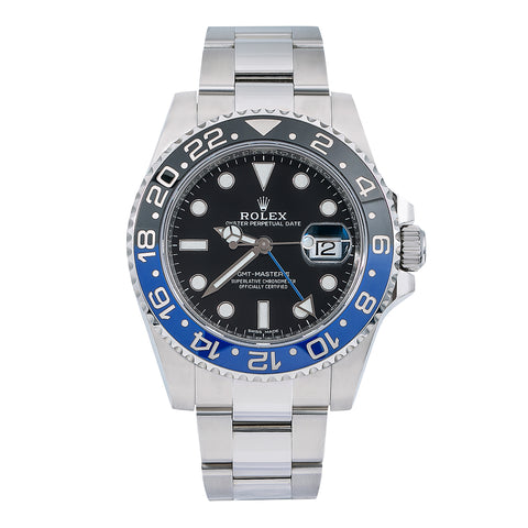 Rolex GMT-Master II 116710BL 40MM With Stainless Steel Bracelet