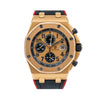 Audemars Piguet Royal Oak Offshore 26470OR 42MM Rose Gold Dial With Rubber Bracelet