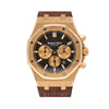 Audemars Piguet 26320OR Royal Oak 41MM Black Chrono Dial With Leather Bracelet