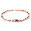 14K Rose Gold Women Bracelet With Small Balls