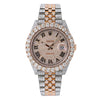 Rolex Datejust II 126331 41MM Rose Gold Diamond Dial With Two Tone Jubilee Bracelet With  22.5 CT Diamonds