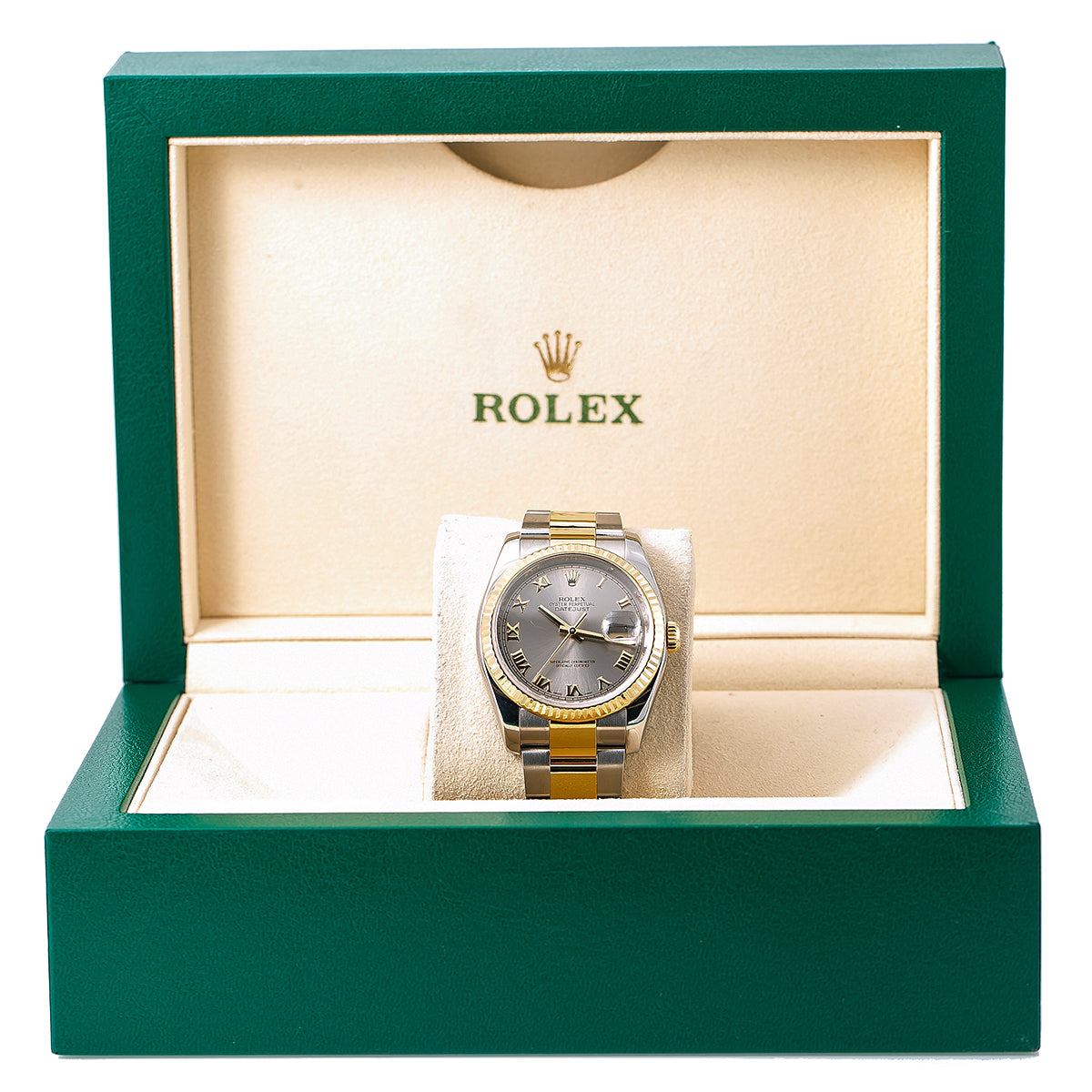 Rolex Datejust 116233 36MM Silver Dial With Two Tone Bracelet