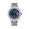 Rolex Datejust  69240 26MM Blue Diamond Dial With Stainless Steel Bracelet