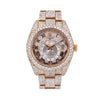 Rolex Sky-Dweller 326935 42MM Rose Gold Diamond Dial With Rose Gold Bracelet