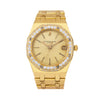 Audemars Piguet Royal Oak 4100BA 36MM Champagne Dial With Yellow Gold Bracelet
