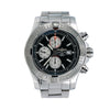 Breitling Super Avenger II A13371 48MM Black Dial With Stainless Steel Bracelet