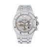 Audemars Piguet Royal Oak Chronograph 26320ST 42MM Silver Diamond Dial With Stainless Steel Bracelet