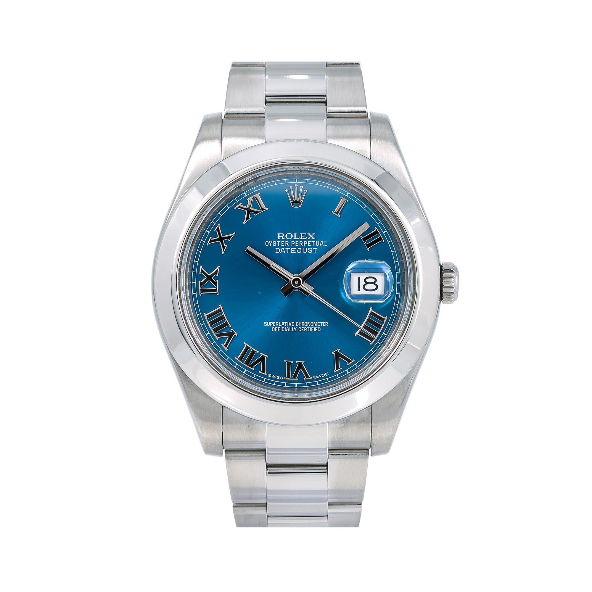 Rolex Datejust II 116300 41MM Blue Dial With Stainless Steel Bracelet