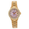 Rolex Oyster Perpetual Lady DateJust 26MM Pink Diamond Dial With Yellow Gold Bracelet