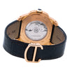 18K Rose Gold Cartier Calibre W710007 42mm Dark Brown Dial