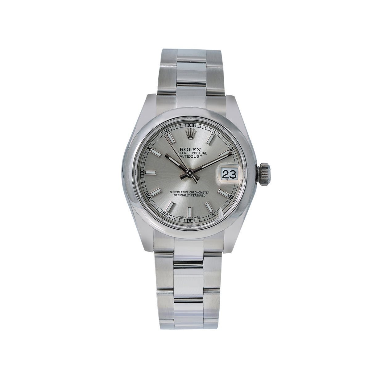 Rolex Datejust 178240 31MM Silver Dial With Stainless Steel Bracelet