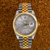Rolex Datejust 126333 41mm Silver Dial 18k Yellow Gold And Stainless Steel Bracelet