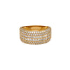 14K YELLOW GOLD LADIES RING WITH 2.42 CT  DIAMONDS