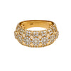 14K YELLOW GOLD LADIES RING WITH 1.90 CT  DIAMONDS