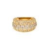 14K YELLOW GOLD LADIES RING WITH 1.83 CT  DIAMONDS