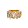 14K YELLOW GOLD LADIES RING WITH 2.15 CT  DIAMONDS