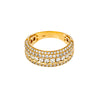 14K YELLOW GOLD LADIES RING WITH 2.20 CT  DIAMONDS