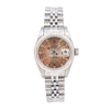Rolex Lady-Datejust 69174 26MM Brown Dial With Stainless Steel Jubilee Bracelet