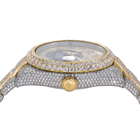 Rolex Sky-Dweller Diamond Watch, 326933 42mm, Arabic Numerals Diamond Dial With 25.75 CT Diamonds