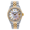 Rolex Lady-Datejust 6827 31MM Pink Diamond Dial With Two Tone Jubilee Bracelet