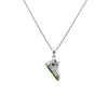 Women's 14K White Gold Shoe Pendant with 0.30 CT Diamonds