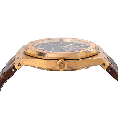 Audemars Piguet Royal Oak Self Winding 15400OR 41MM With Leather Bracelet