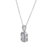 Women's 18K White Gold 0.45 CT Diamond Pendant