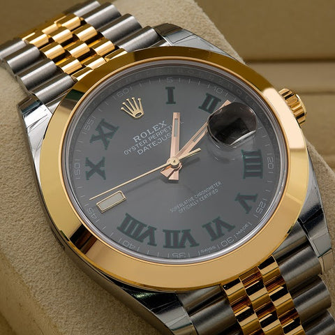 Rolex Datejust II 126303 41MM Wimbledon Dial With Two Tone Bracelet