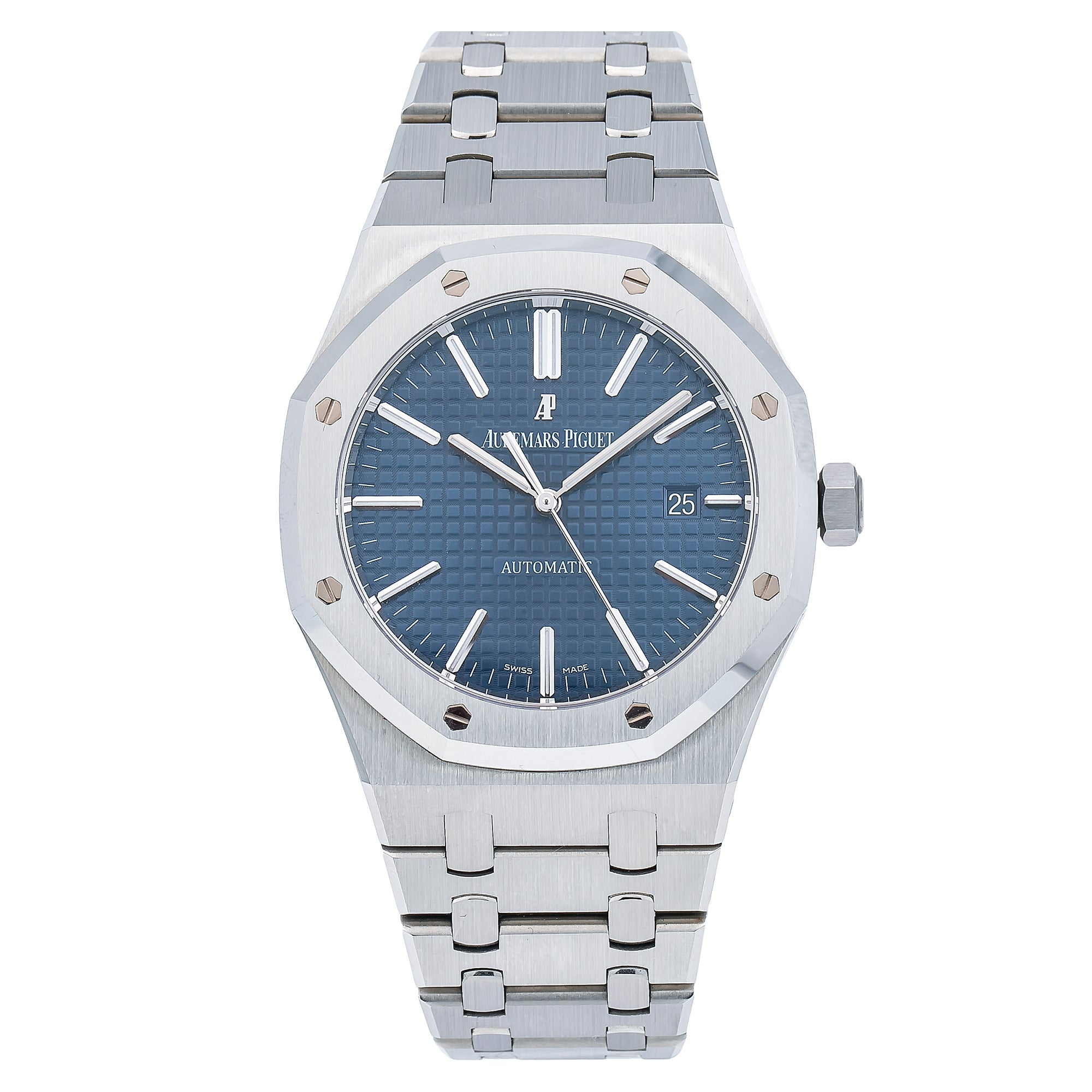 Audemars Piguet Royal Oak Selfwinding 15400ST 41MM Blue Dial With Stainless Steel Bracelet