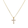 Unisex 14k Yellow Gold Pendant with 0.85 Ct Diamonds