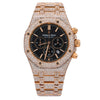 Audemars Piguet Royal Oak Chronograph 26320OR 41MM Black Dial With 21.75 CT Diamonds
