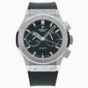 Hublot Classic Fusion Chronograph 541.NX. 42MM Black Dial With Crocodile Skin Bracelet