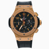Hublot Big Bang 301.PX 44MM Solid Black Matte Dial With Leather Bracelet