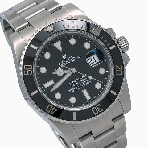 Rolex Submariner Date 116610LN 40MM Black Dial With Stainless Steel Bracelet