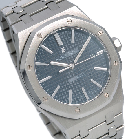 Audemars Piguet Royal Oak Selfwinding 15400ST Blue Dial With Stainless Steel Bracelet