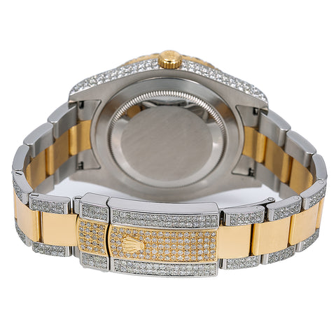 Rolex Datejust 116333 36MM Champagne Diamond Dial With Two Tone Bracelet