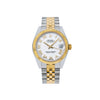 Rolex Datejust 178273 31MM White Dial With Two Tone Bracelet