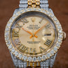 Rolex Datejust 1601 36MM Champagne Diamond Dial With 8.25 CT Diamonds