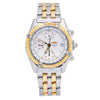 Breitling Chronomat D13050.1 41MM White Dial With Two Tone Bracelet