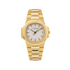 Patek Philippe Nautilus 3800 38MM White Dial With 18K Yellow Gold Bracelet