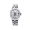 Rolex Lady-Datejust 178240 31MM Silver Diamond Dial With Stainless Steel Bracelet