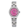 Rolex Oyster Perpetual Lady DateJust 6924 26MM Pink Diamond Dial With Stainless Steel Bracelet